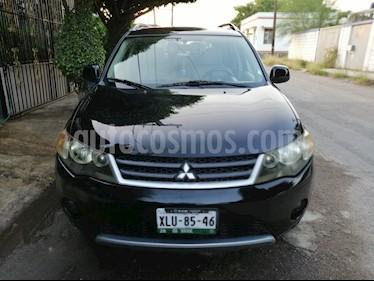 Foto venta Auto usado Mitsubishi Outlander 3.0L XLS (2007) color Negro precio $110,000