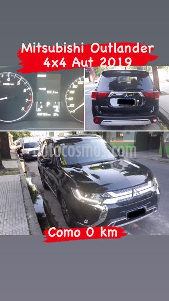 Mitsubishi Outlander GLS 2.4 4x4 CVT usado (2019) color Negro Perla precio u$s40.000