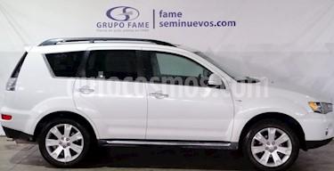 Foto venta Auto usado Mitsubishi Outlander Limited (2013) color Blanco precio $195,000