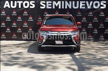 Mitsubishi Outlander 2.4L SE Plus usado (2018) color Rojo Ardent precio $329,999