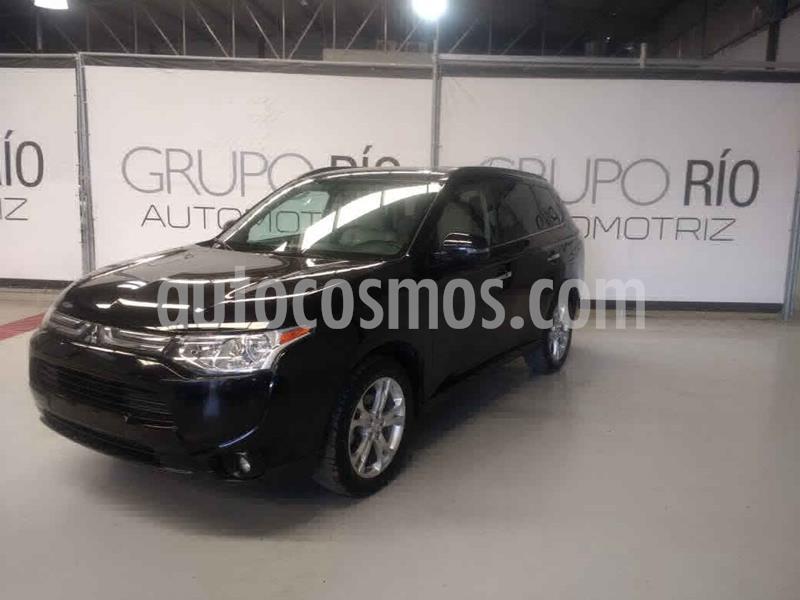 Mitsubishi Outlander 2.4L Limited usado (2014) color Negro precio $205,000