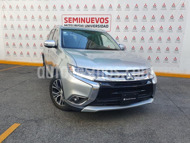 Mitsubishi Outlander 2.4L Limited usado (2018) color Plata precio $355,000