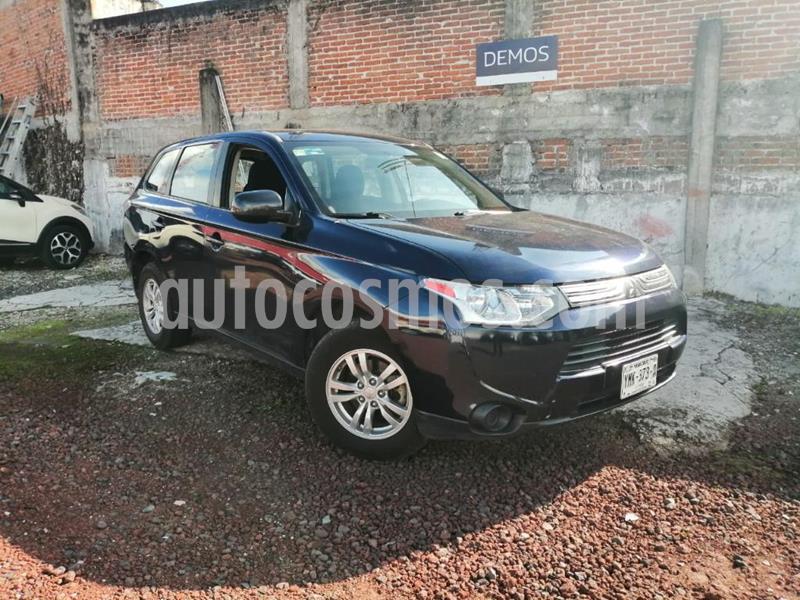 Mitsubishi Outlander ES usado (2014) color Azul precio $180,000