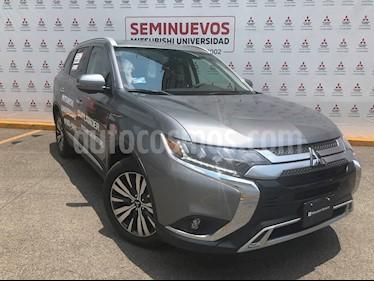 Mitsubishi Motors Outlander Limited usado (2019) color Plata precio $479,000