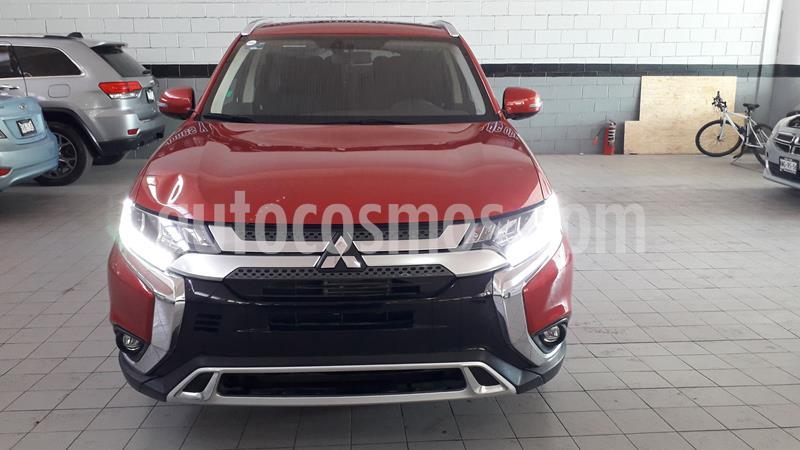 Mitsubishi Outlander 2.4L SE Plus usado (2019) color Rojo precio $430,000