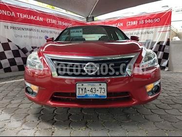 Foto venta Auto usado Nissan Altima Advance NAVI (2013) color Rojo precio $189,000