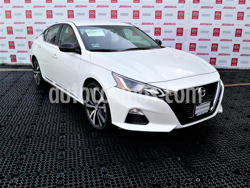 Nissan Altima S 2.5L usado (2019) color Blanco precio $432,000