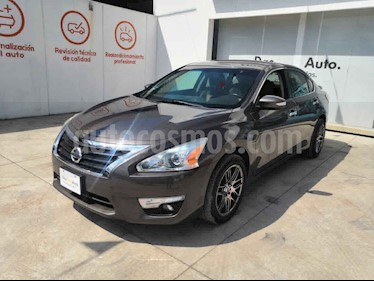 Nissan Altima 4p Advance Navi L4/2.5 Aut usado (2014) color Cafe precio $179,000
