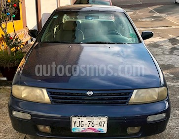 Foto venta Auto Seminuevo Nissan Altima S 2.5L (1996) color Azul precio $39,000