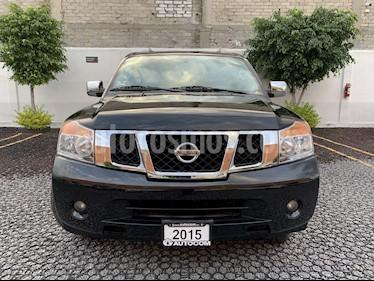 Foto venta Auto usado Nissan Armada ARMADA ADVANCE TA (2015) color Negro precio $325,000