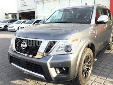Foto venta Auto usado Nissan Armada ARMADA SV 4X4 PIEL QUEMACOCOS T/A (2018) color Gris precio $850,000