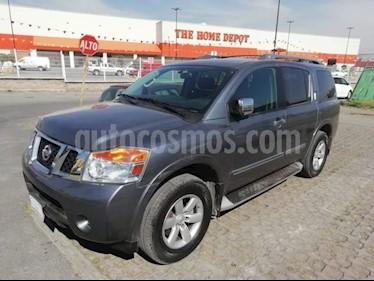 Foto venta Auto usado Nissan Armada Exclusive (2013) color Grafito precio $250,000