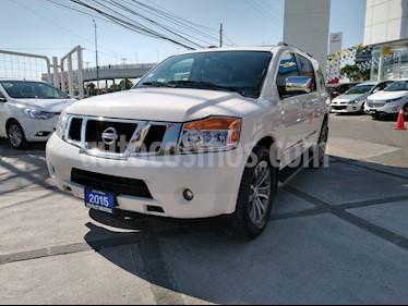 Foto Nissan Armada Exclusive usado (2015) color Blanco precio $382,000