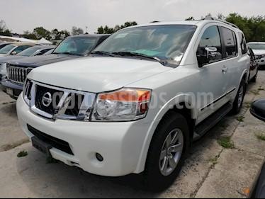 Foto venta Auto usado Nissan Armada Exclusive (2013) color Blanco precio $270,000