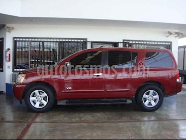Nissan Armada SE 4x2 usado (2006) color Vino Tinto precio $115,000