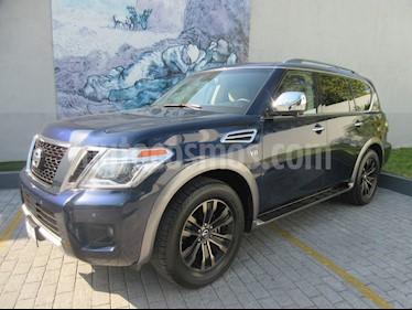 Nissan Armada Exclusive usado (2017) color Azul precio $669,900