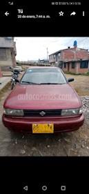Nissan B13 16v usado (1992) color Rojo precio $6.000.000