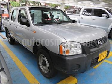 Foto venta Carro usado Nissan Frontier NP300 2.4L 4x2 Doble Cabina (2014) color Plata precio $45.500.000