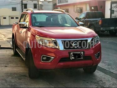 Foto venta Auto Seminuevo Nissan Frontier LE 2.4L  (2017) color Rojo precio $298,000