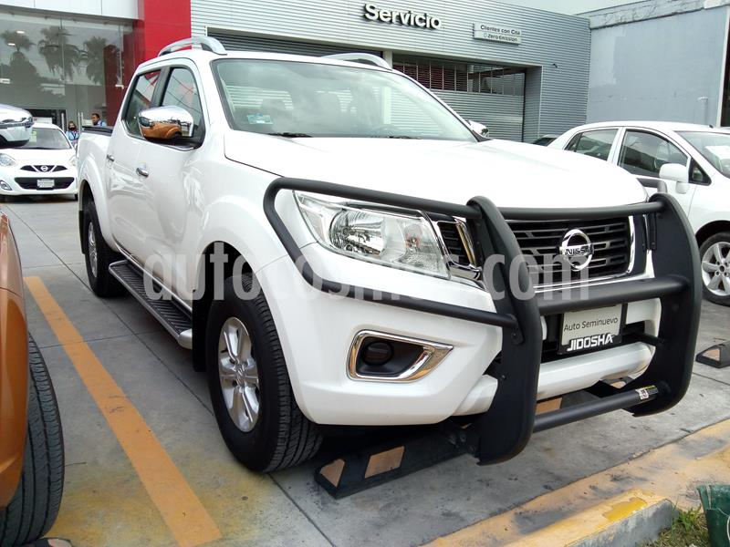 Nissan Frontier LE 2.4L  usado (2020) color Blanco precio $400,000