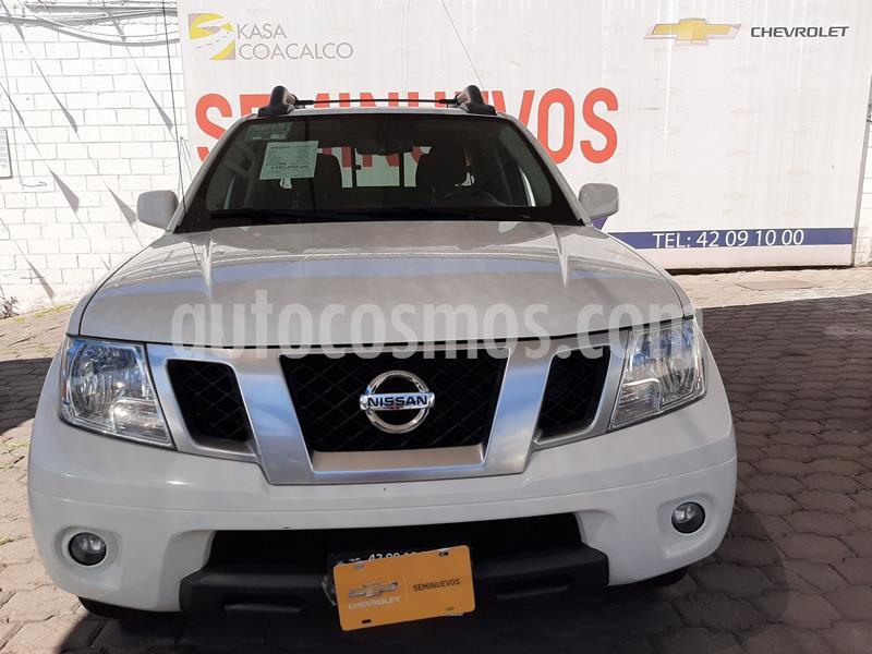 Nissan Frontier Pro-4X 4x4 V6 usado (2018) color Blanco precio $400,000