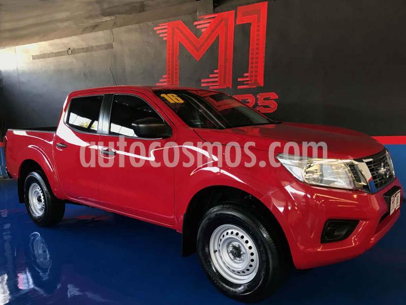 Nissan Frontier XE 2.4L 4x2  usado (2016) color Rojo precio $259,900