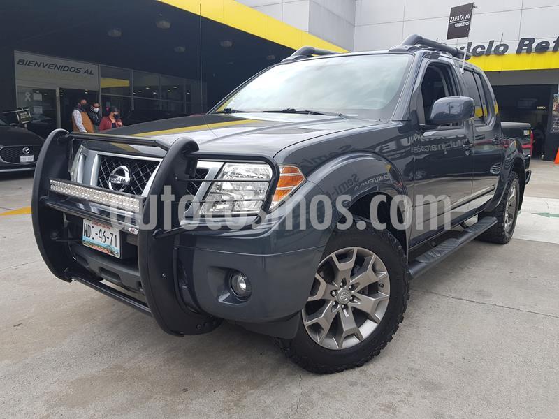 Nissan Frontier Pro-4X 4x2 V6 usado (2015) color Gris Ceniza precio $275,000