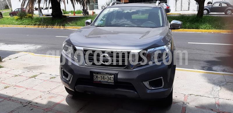 Nissan Frontier LE 2.4L  usado (2018) color Gris precio $350,000