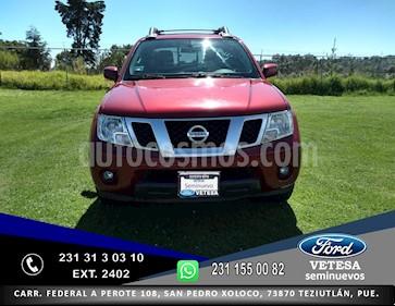 Foto venta Auto usado Nissan Frontier SE 4x4 V6 (2014) color Rojo precio $249,000