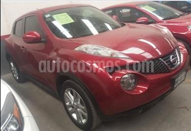Foto Nissan Juke 5P EXCLUSIVE 1.6T TM6 A/AC. PIEL GPS QC RA-17 usado (2014) color Rojo precio $199,000