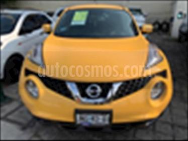 Nissan Juke 5P EXCLUSIVE L4/1.6/T AUT usado (2017) color Amarillo precio $279,000
