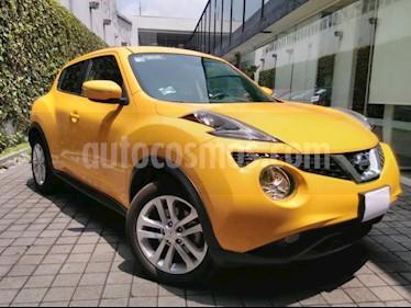 Nissan Juke 5p Exclusive L4/1.6/T Aut usado (2017) color Amarillo precio $295,000