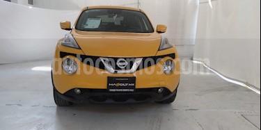 foto Nissan Juke Exclusive CVT NAVI usado (2017) color Amarillo precio $254,500