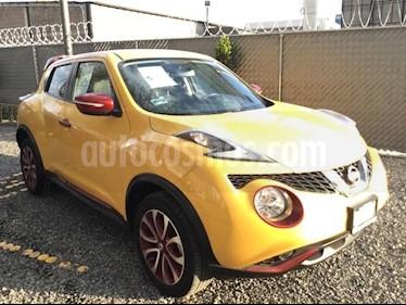 Foto venta Auto usado Nissan Juke JUKE 1.6 EXCLUSIVE CVT 5P (2017) color Amarillo precio $300,000
