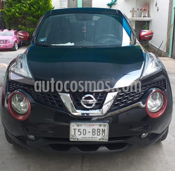 Nissan Juke Exclusive CVT usado (2016) color Negro precio $190,000