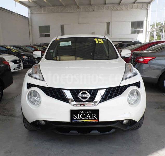 Nissan Juke Exclusive CVT usado (2015) color Blanco precio $199,000