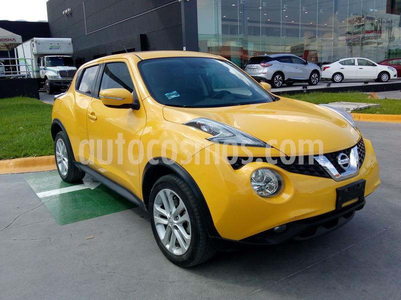 Nissan Juke Exclusive usado (2017) color Amarillo precio $243,041