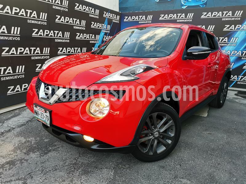 Nissan Juke Exclusive usado (2015) color Rojo Infierno precio $225,000