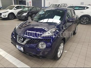 Nissan Juke 5p Exclusive L4/1.6/T Aut usado (2017) color Azul Marino precio $265,000