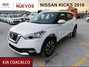 Foto venta Auto usado Nissan Kicks 5p Advance L4/1.6 Aut (2018) color Blanco precio $269,000
