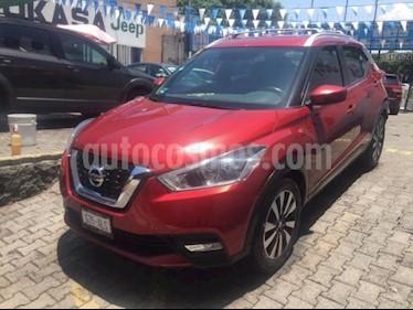 Foto venta Auto usado Nissan Kicks 5p Advance L4/1.6 Aut (2017) color Rojo precio $270,000