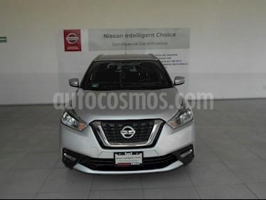 Foto venta Auto usado Nissan Kicks 5p Advance L4/1.6 Aut (2017) color Plata precio $289,000