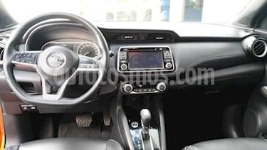 Foto venta Auto usado Nissan Kicks 5p Exclusive Bitono L4/1.6 Aut (2018) color Naranja precio $295,000