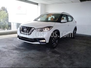Foto venta Auto usado Nissan Kicks 5p Exclusive L4/1.6 Aut (2018) color Blanco precio $329,900