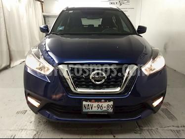Foto venta Auto usado Nissan Kicks Advance Aut (2017) color Azul Cobalto precio $265,000