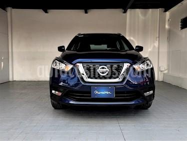 Foto venta Auto usado Nissan Kicks Advance Aut (2017) color Azul Cobalto precio $259,000