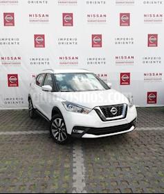 Foto venta Auto usado Nissan Kicks Advance Aut (2018) color Blanco Perla precio $308,000