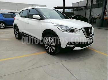 Foto venta Auto usado Nissan Kicks Advance Aut (2018) color Blanco precio $280,000
