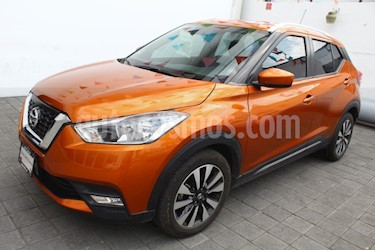 Nissan Kicks Advance Aut usado (2018) color Naranja Metalico precio $260,000