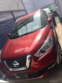 Nissan Kicks Advance Aut usado (2017) color Rojo precio $250,000